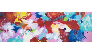 multicoloured abstract painting