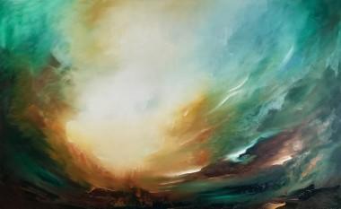 Vega Chaser | Oil on canvas | 122 x 76 cm | 2020