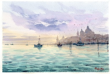 Venice from water