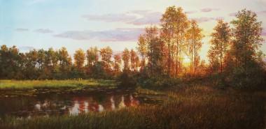 Landscape Warm Sunset