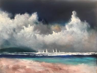 White Sails Painted Skies IV