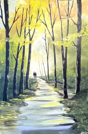 Yellow Hues Of Autumn