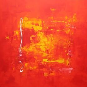 Orange Flame II