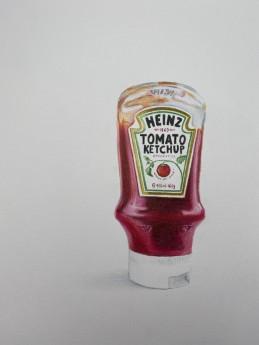 Ketchup drawing