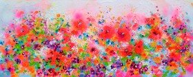 Poppy Field - Red Poppies Flowers