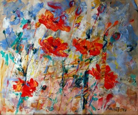 """""""Poppies in the spring"""""""