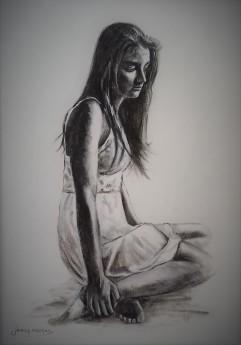 #mono #figure #study #ink #woman