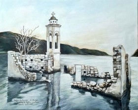 """St. Nikolas Chapel"" Kouris Reservoir, Cyprus"