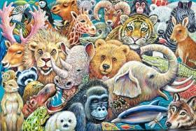 Animals full view