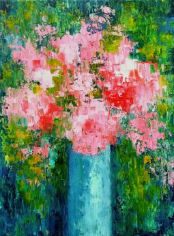 Pink Bouquet VI