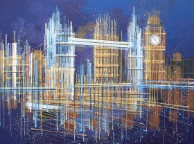 London - Tower Bridge And Big Ben Composition 1