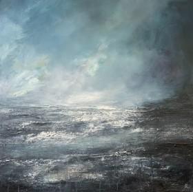 Abstract Ocean Teal