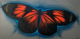 Perilla Cresent Butterfly