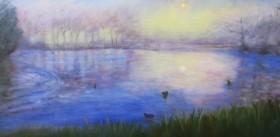 A Misty Morning, Alexandra Park