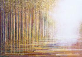 Autumn Trees At Sunset Composition #2