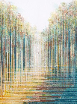 Autumn Trees Composition #8