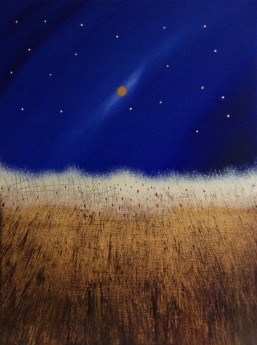Wild Wheat And A Golden Moon