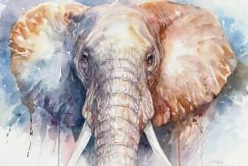 Blue Nyla Elephant