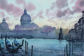 Breezy sunset-Venice