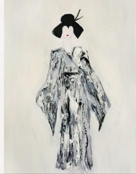 geisha Japanese woman lady costume