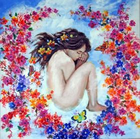 Cloud Of Flowers