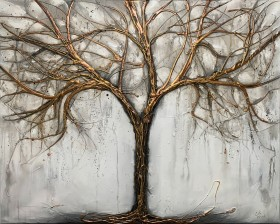 Copper Grey Tree