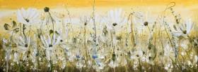Delicate Yellow Landscape