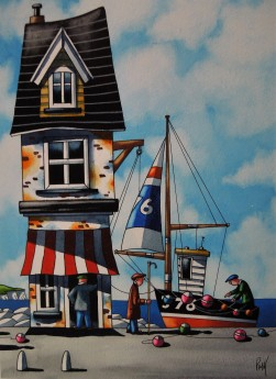 Cornish Blue Waters