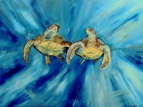 Sea life Painting