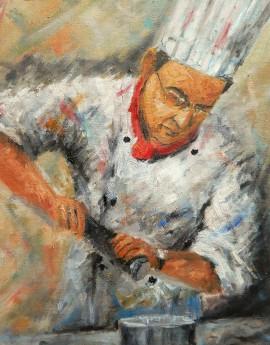 Master Chef - Figurative Study - 878 - 2016