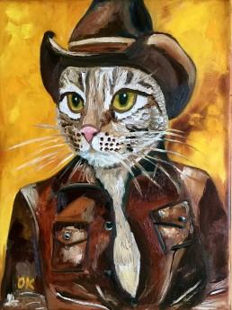 Cat Cowboy