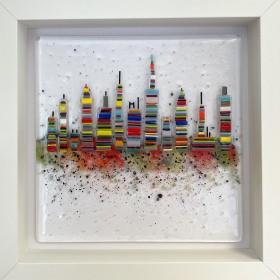 Cityscape of colour
