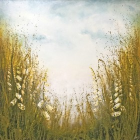 Green Meadow painting