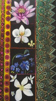 Flora of India. Diptych