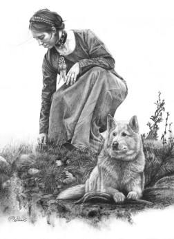 Guardian Spirit Wolf