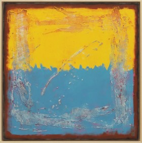 Once in Yellow & Blue Square - Incl Frame