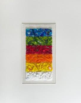 Rainbow Glass Panel