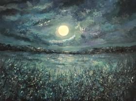 Moonlight on the Marsh