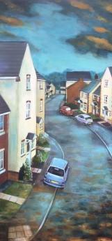 Lockdown landscape painting