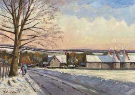 Kent Farm in Winter