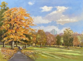 Autumn in Green Park