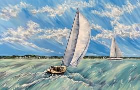 Follow the Wind Under Sail