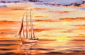Calm Sunset 1