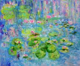 Monet's Waterlilies 2021
