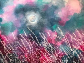 Moonlit Wild Meadow