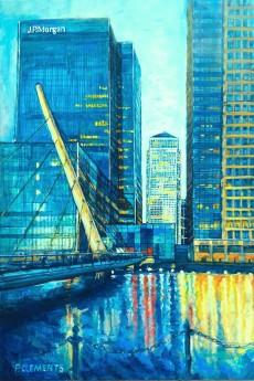 main view Canary Wharf