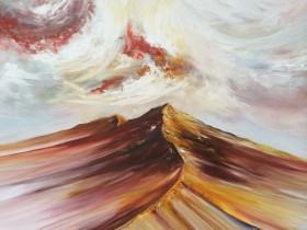 Peak District painting