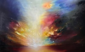 Promethean Flame | Oil on canvas by Paul Kingsley Squire