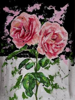 Full unframed roses starwars