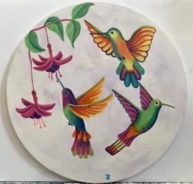 The Three Hummingbirds